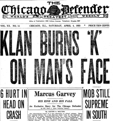 Chicago Defender newspaper
