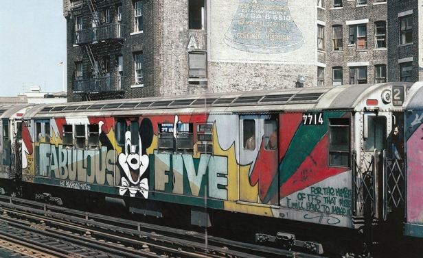 Grafitti_Train_NYC