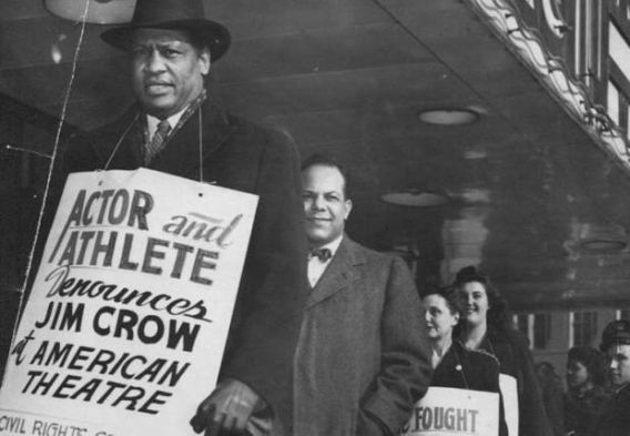 Paul Robeson Athlete denounce