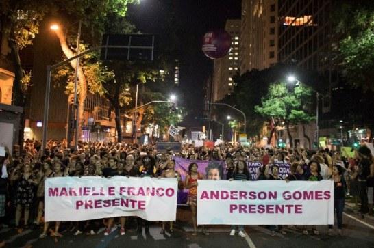 mass demostration for Mariella