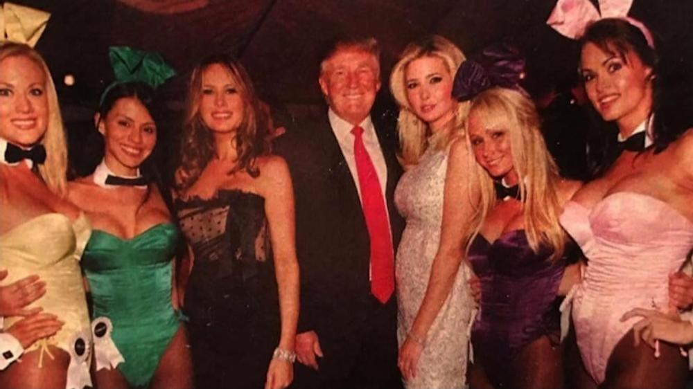 DT and the playboy girls