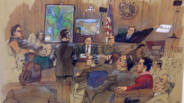 Tribunal art