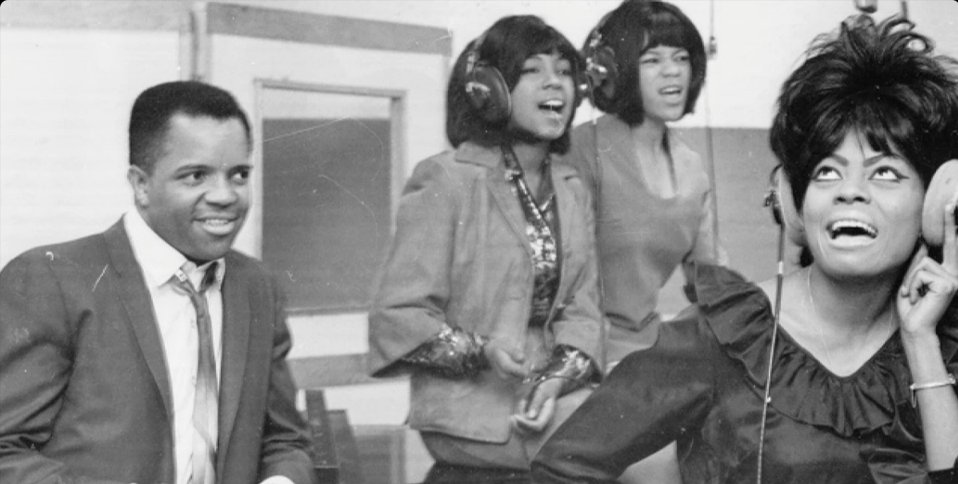 berry gordy and the supremes
