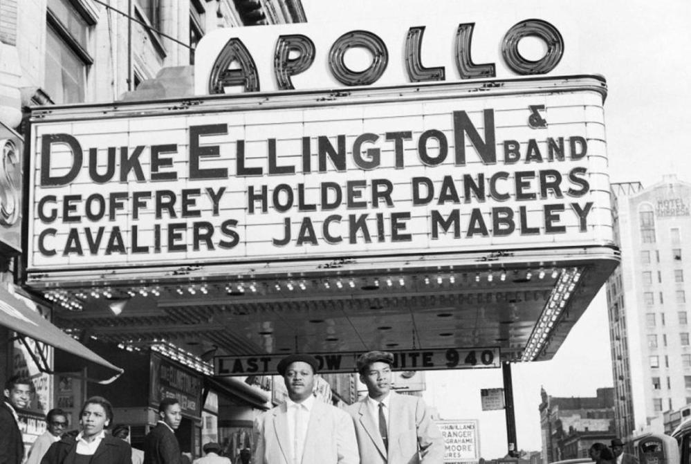 duke ellington at the apollo