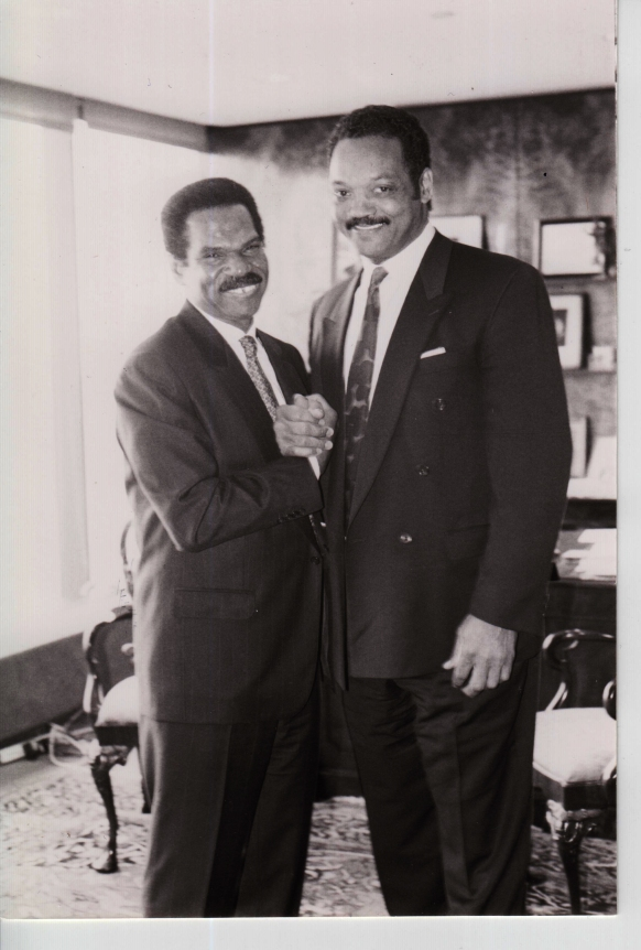 Reginald F. Lewis and Jessie Jackson