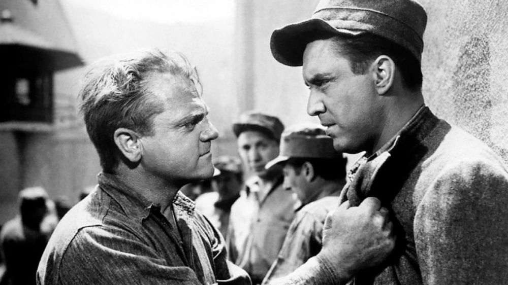 James Cagney and Edmond O'Brien