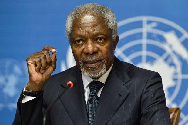 Switzerland Obit Annan